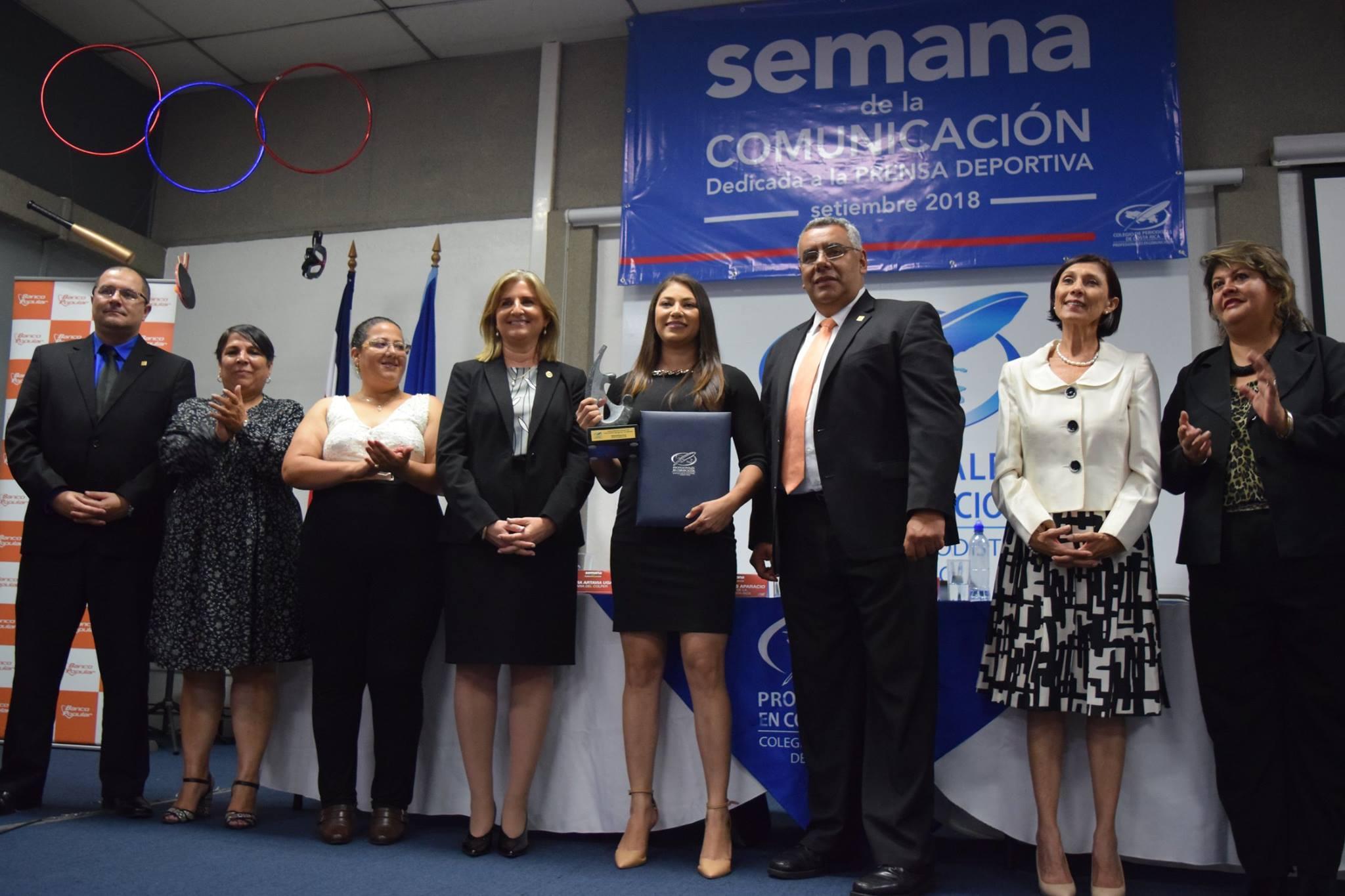 TVN Noticias recibe galardón Jorge Vargas Gené,  otorgado por el Colegio de Periodistas de Costa Rica.