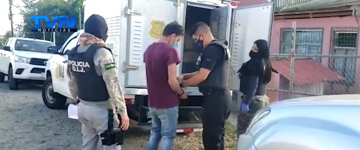 Cae  en Aguas Zarcas  joven con cuentas pendientes por varios delitos