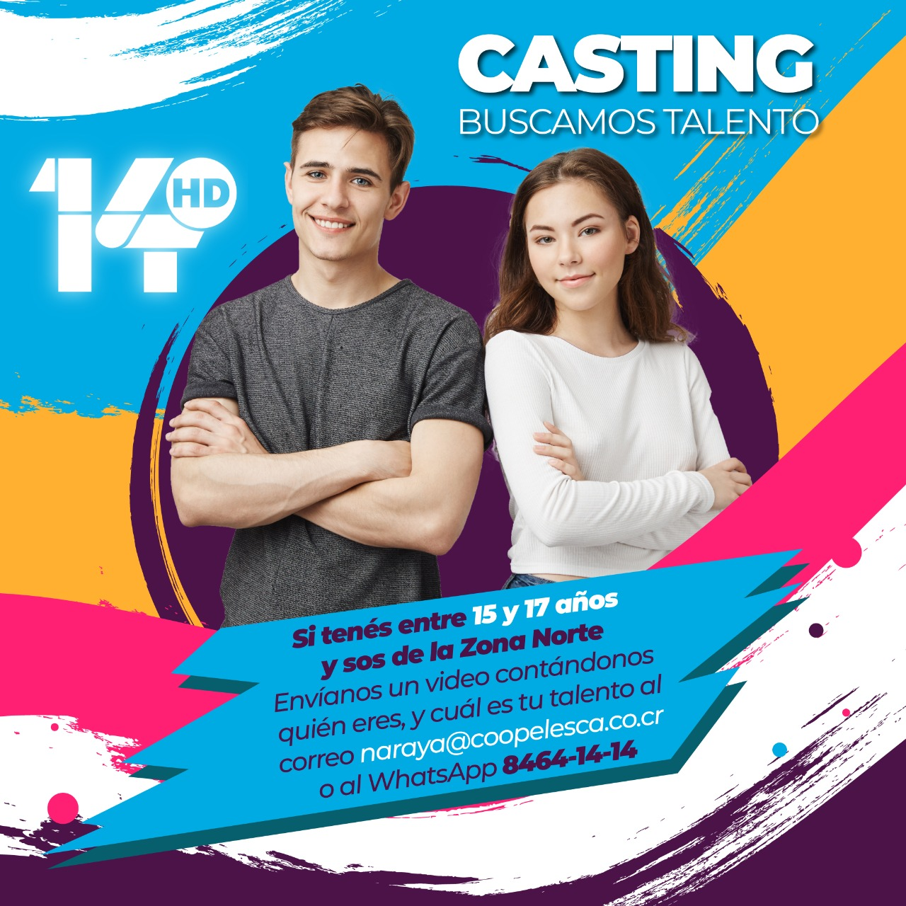 TVN Canal 14 inicia casting