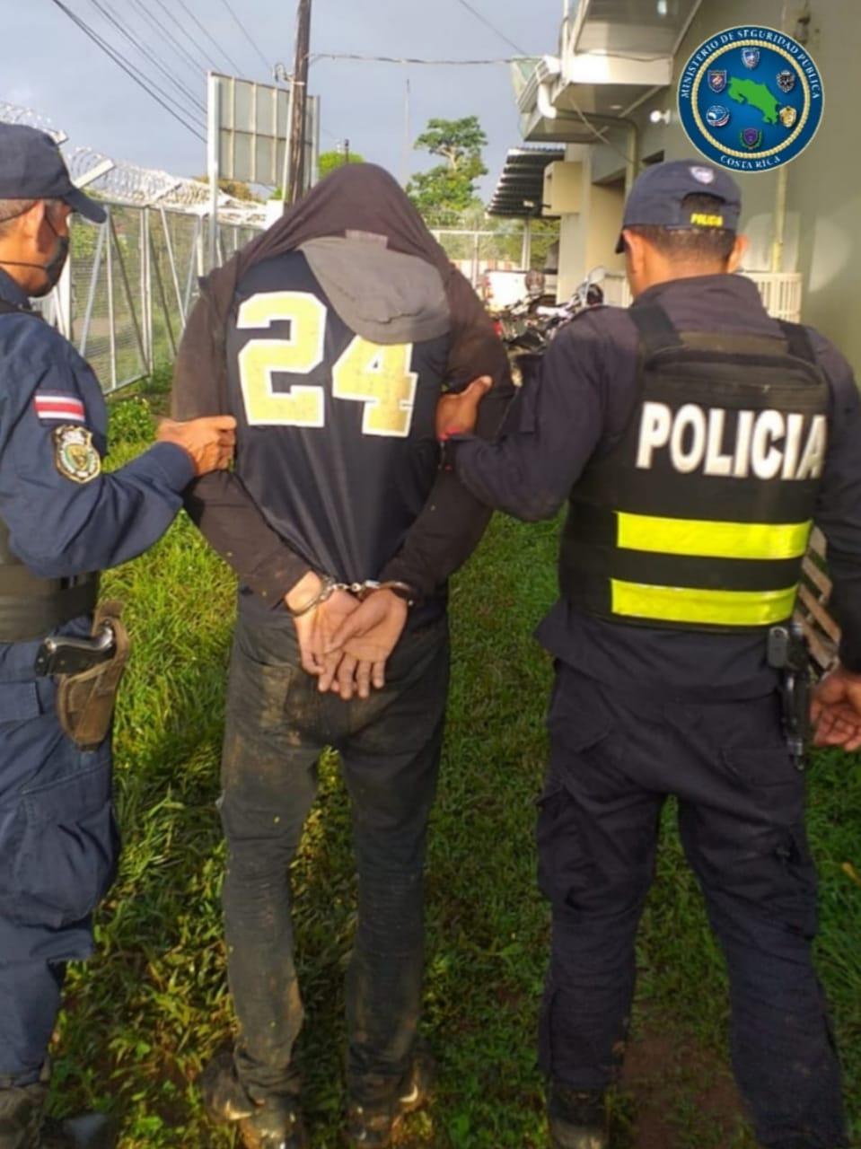 Presunto asaltante detenido en Pocosol irá dos meses a prisión preventiva