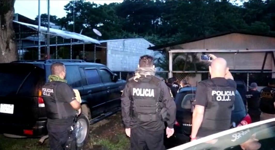 OIJ  detiene en San Carlos y Guanacaste a integrantes de banda roba carros.