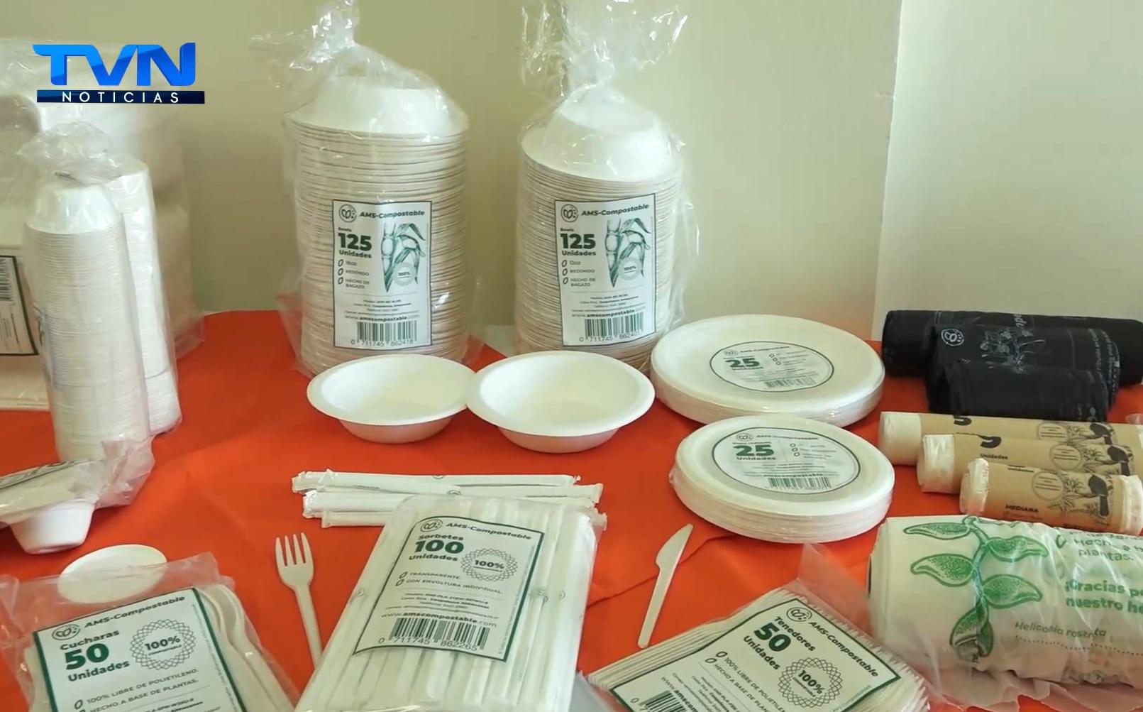 Recomiendan el uso de productos compostables ante prohibición del estereofón en el país