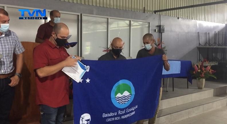 Upala: 18 fincas galardonadas con Bandera Azul Ecológica