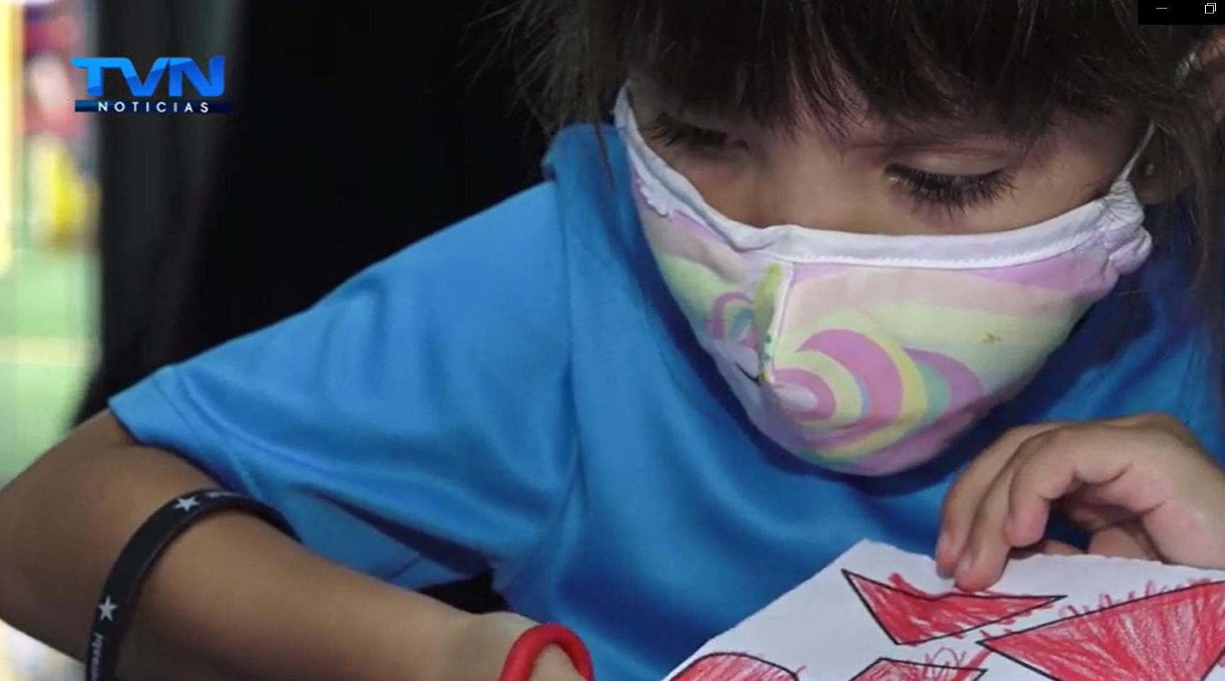 Los niños de la escuela San Martín motivan a sancarleños adquirir una pulsera para que Abigail vea las estrellas