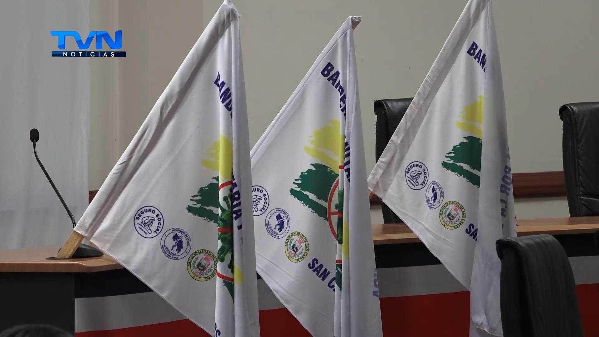 Lanzan iniciativa de bandera sanitaria por la vida en San Carlos
