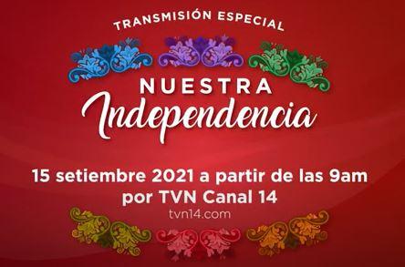 Agenda Patriótica del Bicentenario en TVN Canal 14