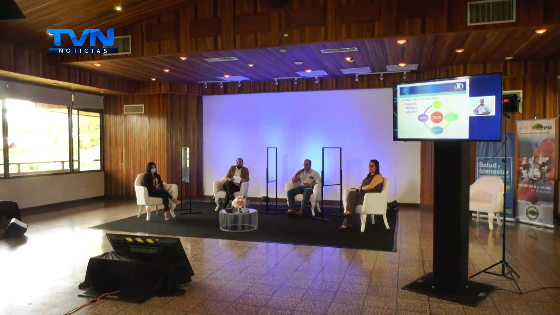 INS realizó un encuentro de prevención y salud en el trabajo para empresas de la Región Huetar Norte