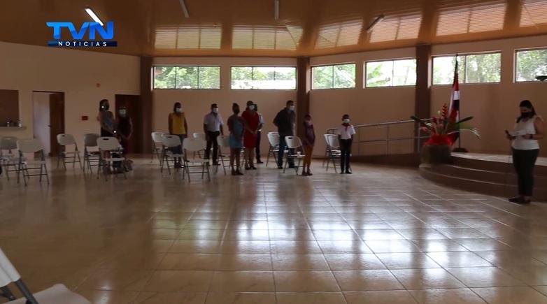 Los Chiles: vecinos de El Parque cuentan con un nuevo salón multiuso.