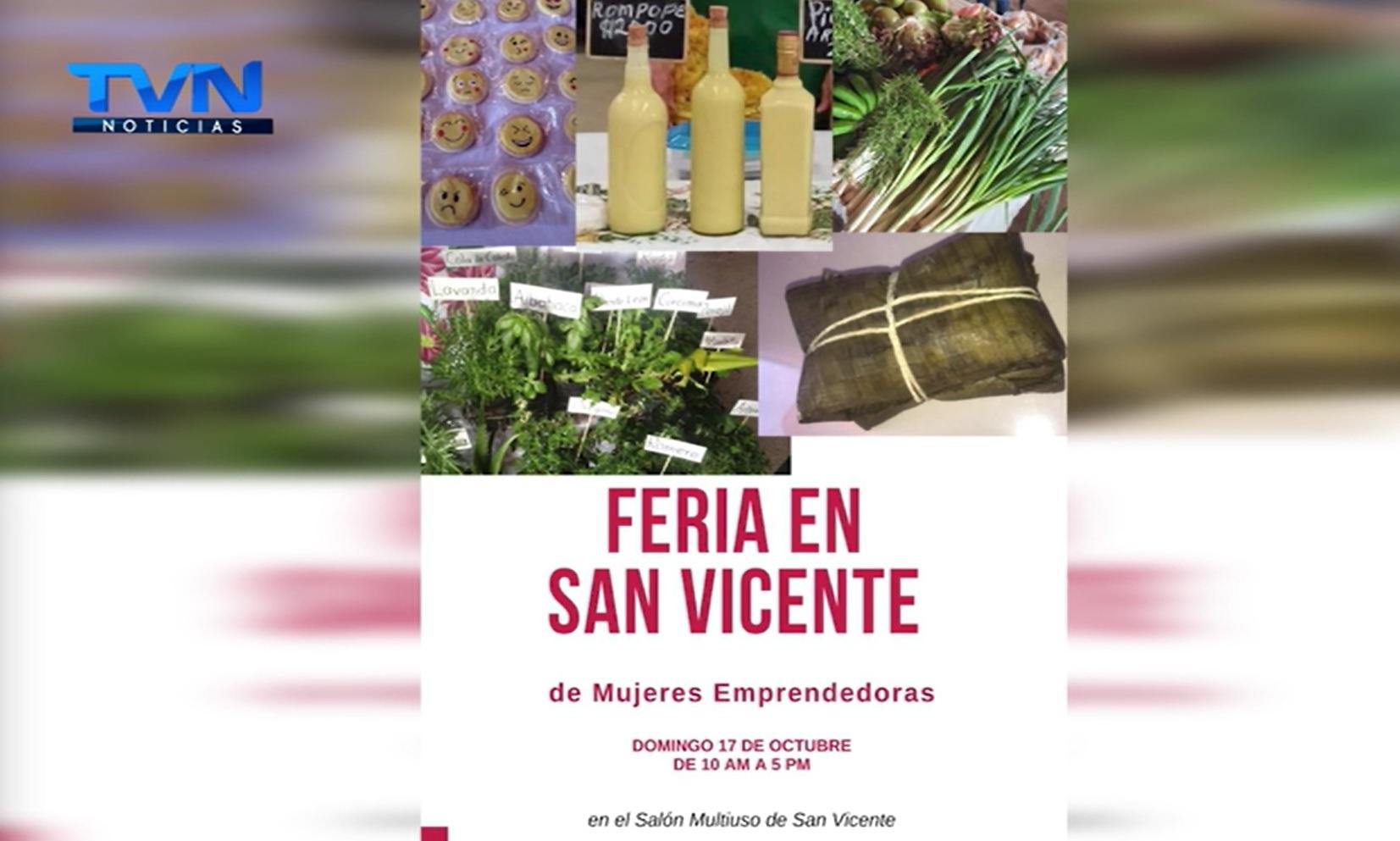 15 mujeres de San Vicente de Ciudad Quesada afectadas por la Pandemia organizan Feria Empresarial