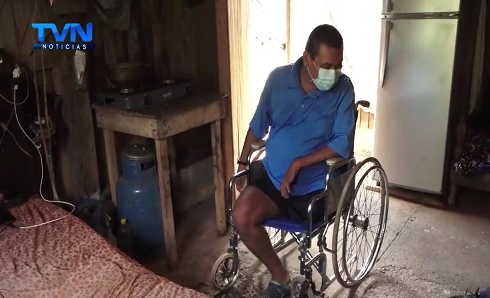 Joven, peón agrícola, pide ayuda para volver a caminar