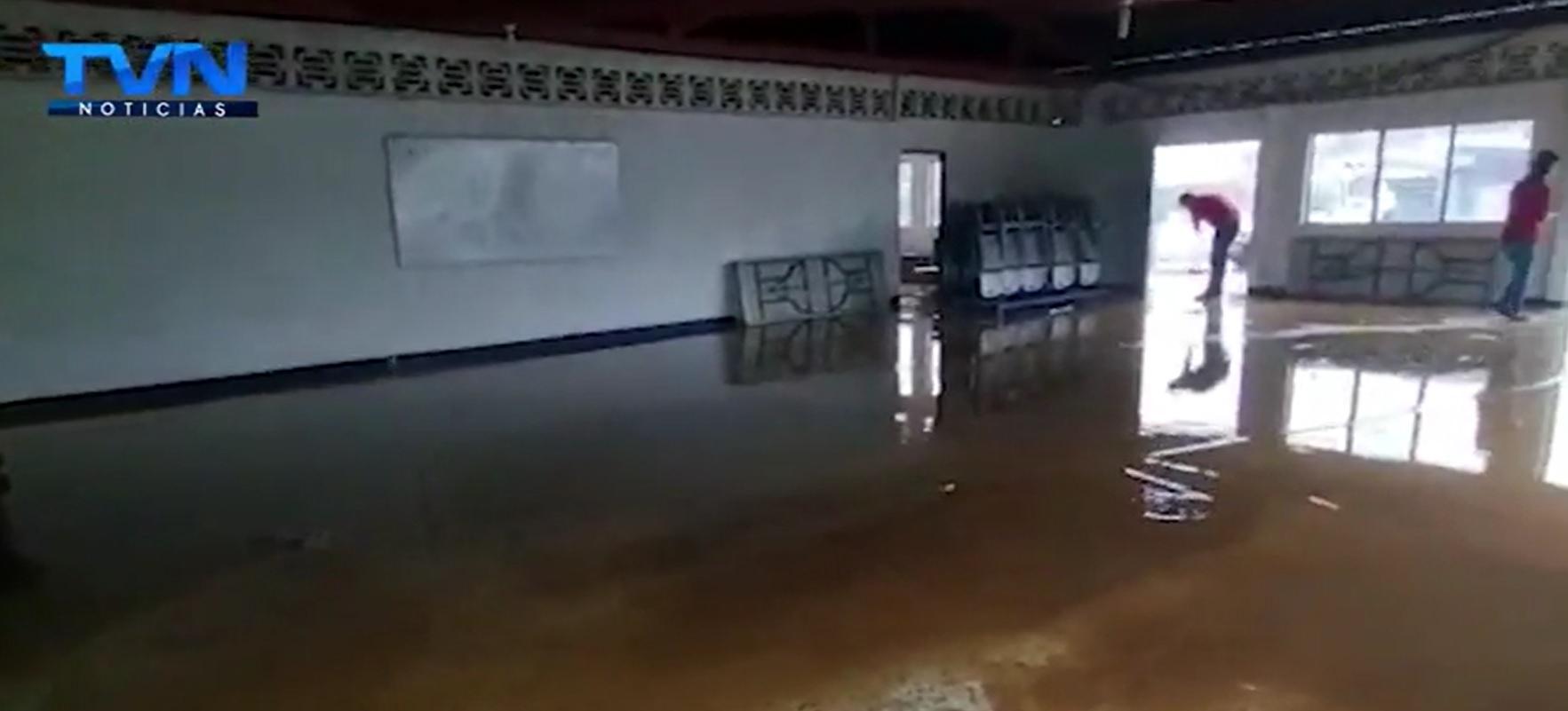 Los fuertes aguaceros del fin de semana afectaron diferentes localidades en Guatuso y Pital de San Carlos