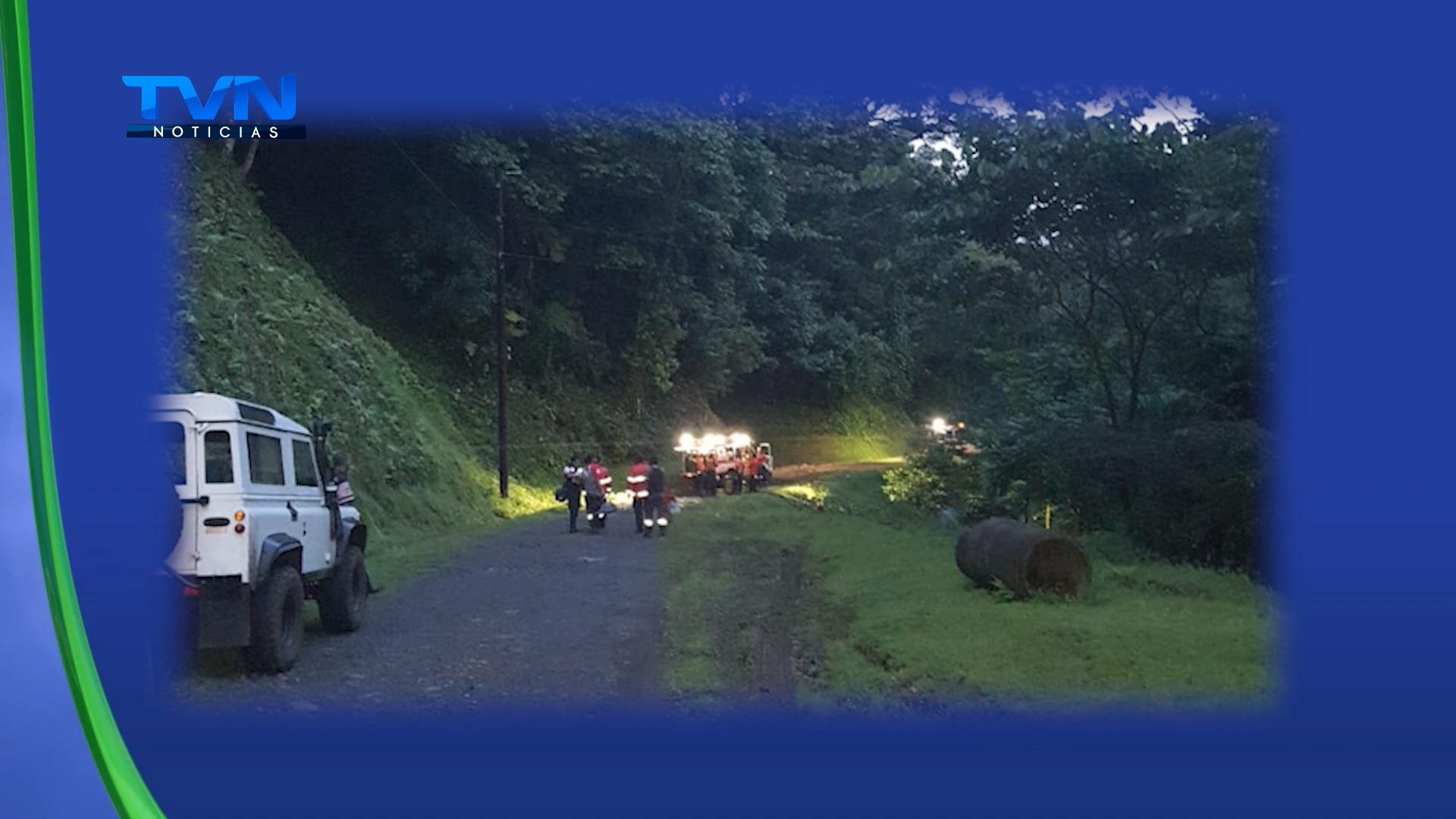 Turistas extranjeros y guías fueron rescatados por la Cruz Roja en San Isidro de Peñas Blancas